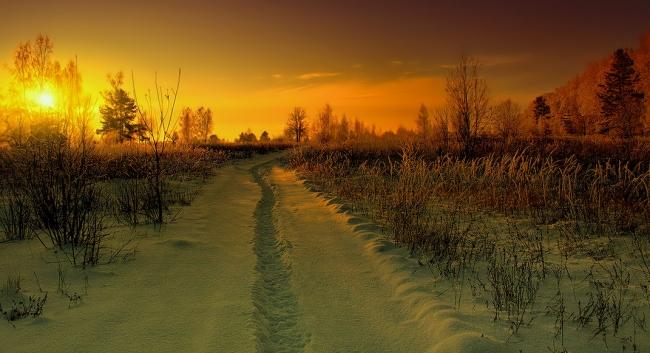 Фото прикол  про дороги и зиму