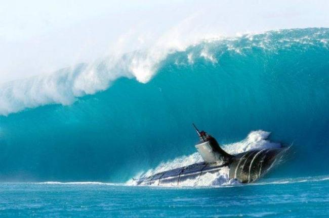 Фото прикол  про подводную лодку