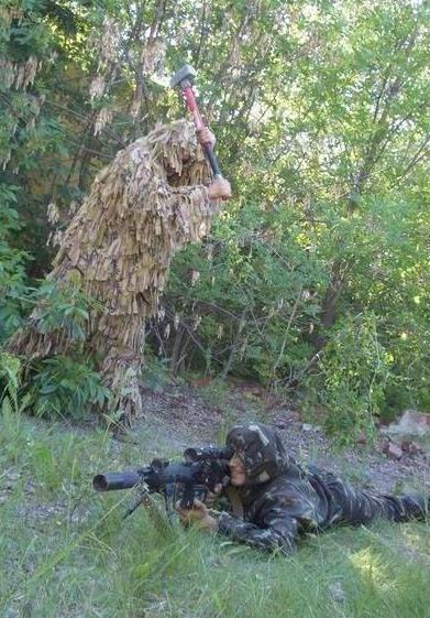 Фото прикол  про снайпера