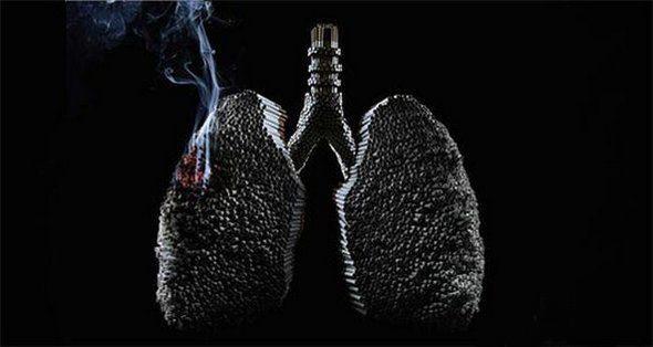 Фото прикол  про курение черный