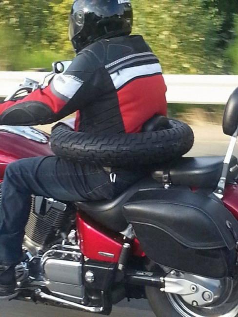 Фото прикол  про мотоциклистов