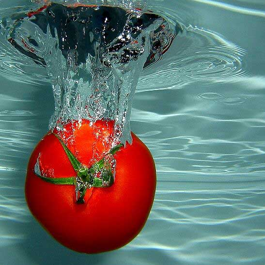 Фото прикол  про помидоры