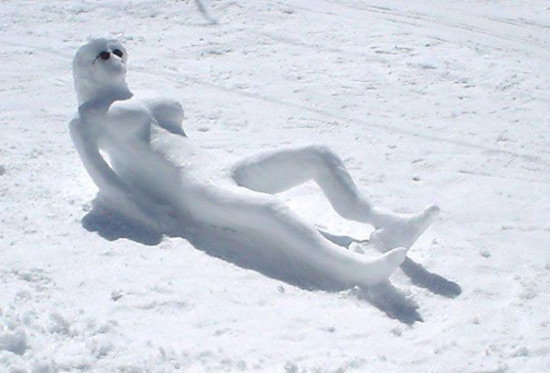 Фото прикол  про снеговика пошлый