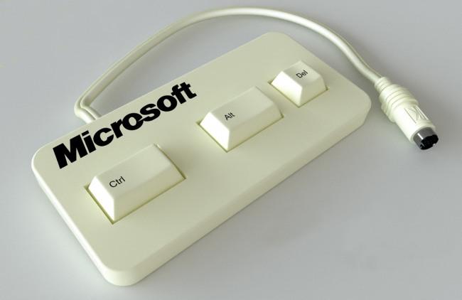 Фото прикол  про клавиатуру и виндоус