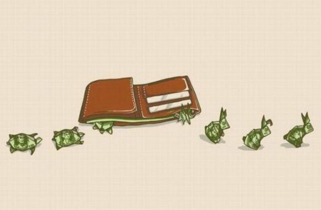 Картинка  про деньги