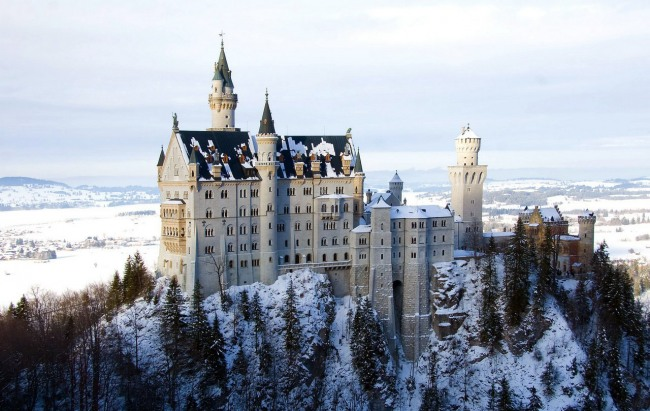 Фото прикол  про замок