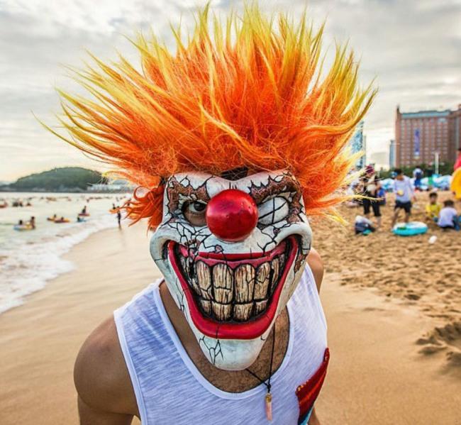 Фото прикол  про клоунов