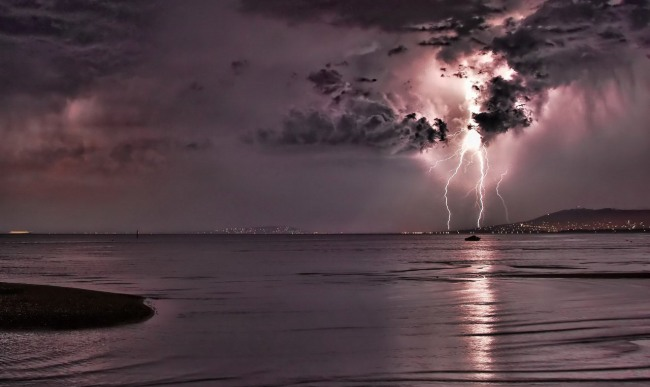 Фото прикол  про молнию