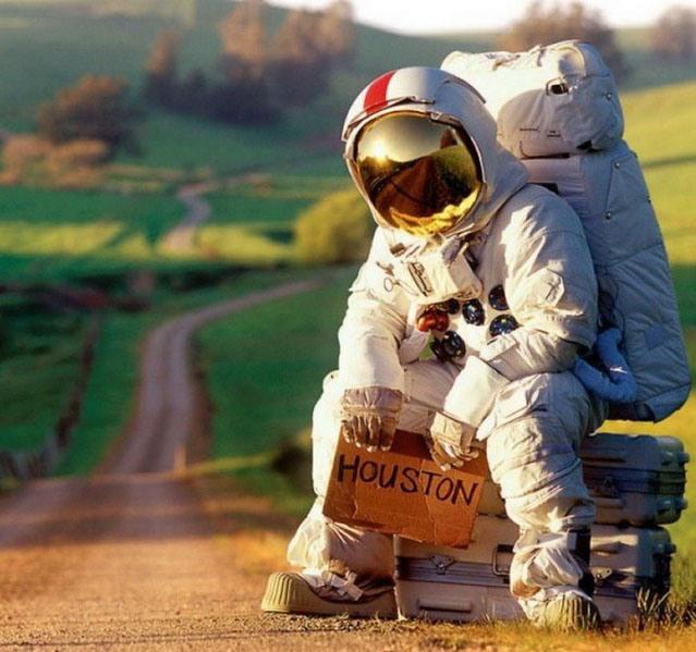 Фото прикол  про космонавтов