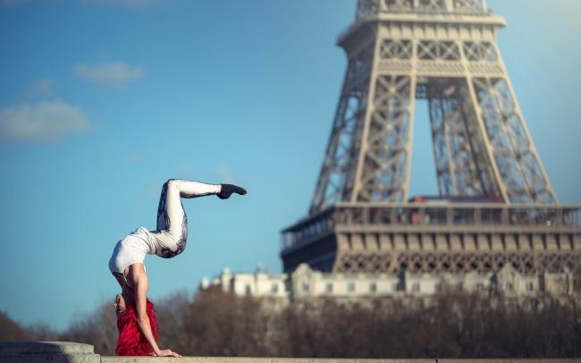 Фото прикол  про йогу