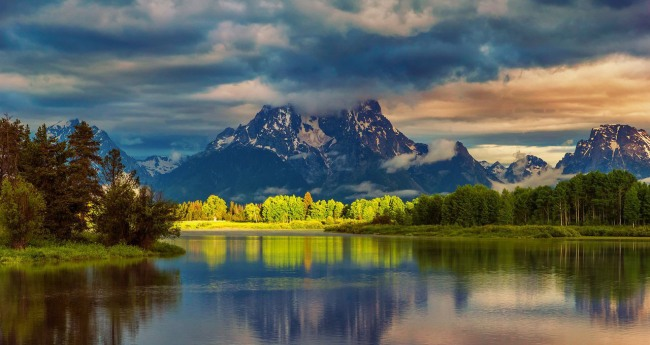 Фото прикол  про горы и природу