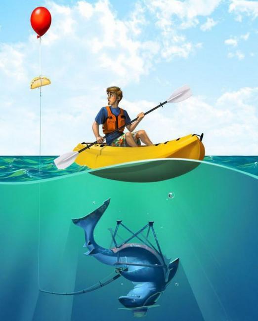 Картинка  про акул