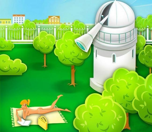 Картинка  про телескоп