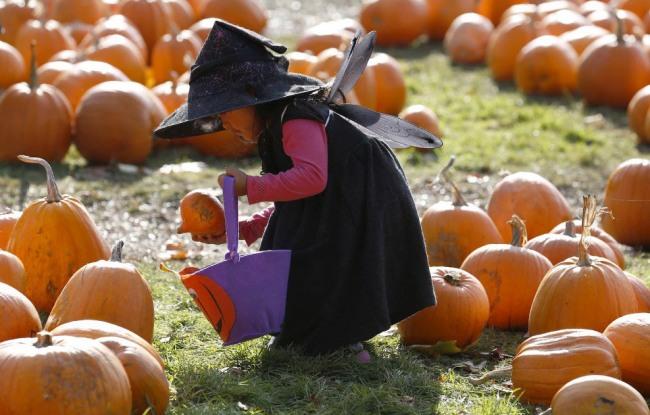 Фото прикол  про хэллоуин и детей