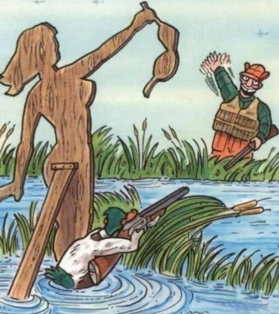 Картинка  про охоту