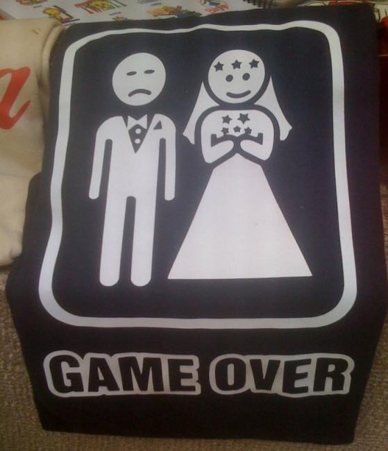 Фото прикол  про свадьбу