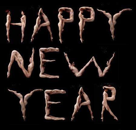 Фото прикол  про раздетых людей, новый год пошлый