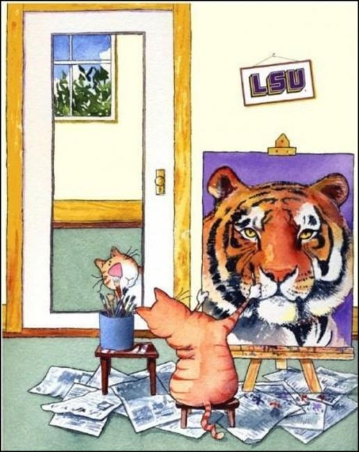 Картинка  про котов