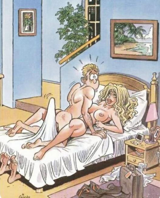 Картинка  про секс, интимная пошлая