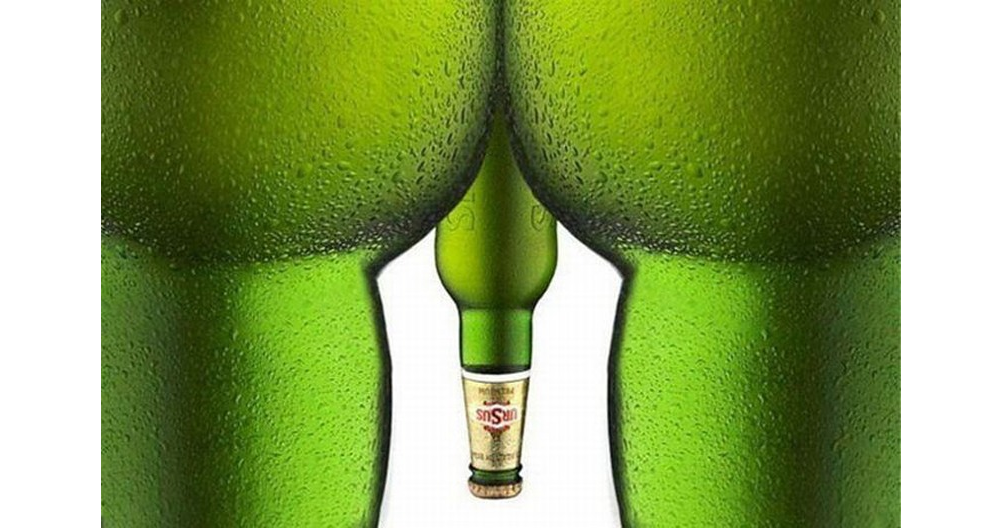 Bottles as a sexual metaphor