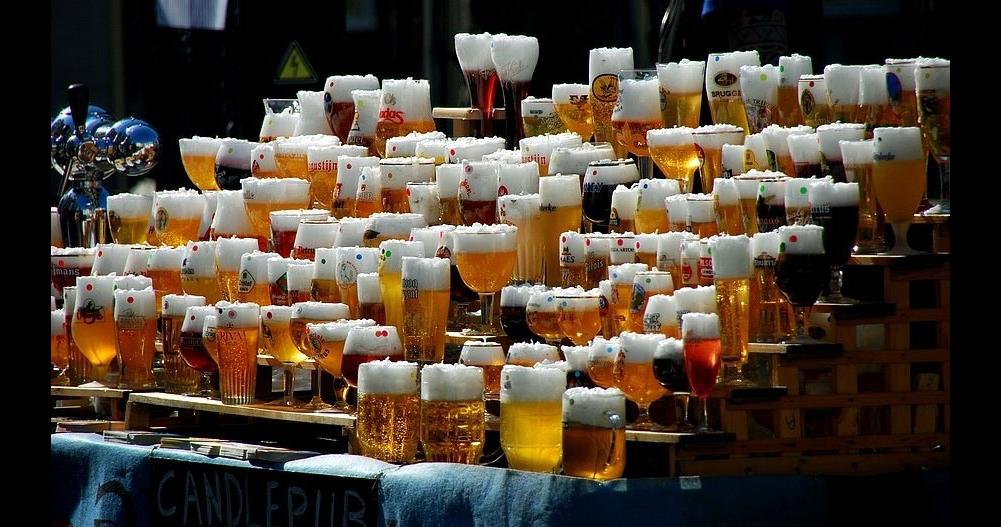 Прикольные картинки море пива