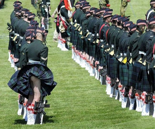 Фото прикол  про шотландцев