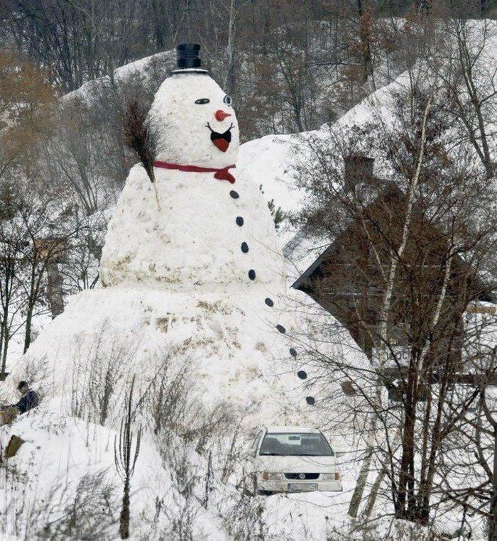 юморной снеговик картинки рисунки