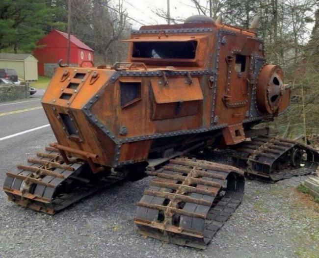 Фото прикол  про трактор