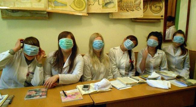 Фото прикол  про медицинский институт и анонимность
