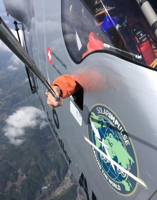 Фото прикол  про селфи и самолеты