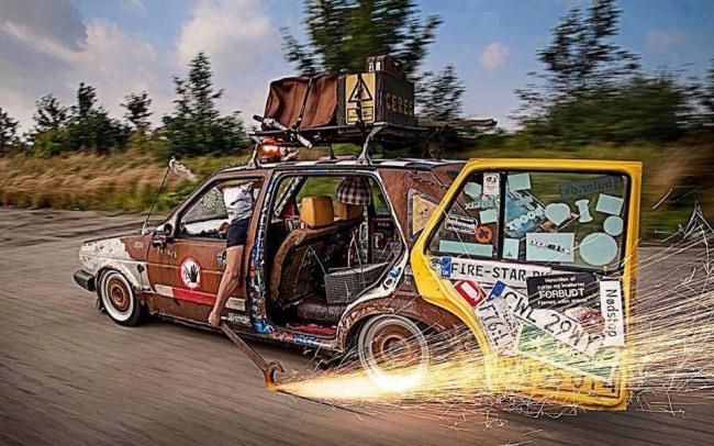 Фото прикол  про автомобили