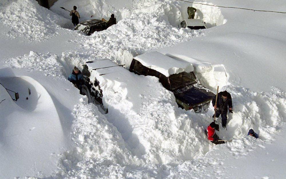 Смешная картинка про снег