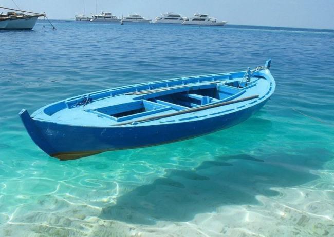 Фото прикол  про лодку