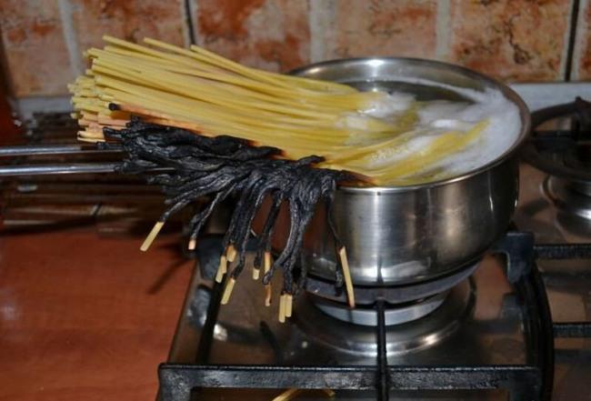 Фото прикол  про приготовление пищи