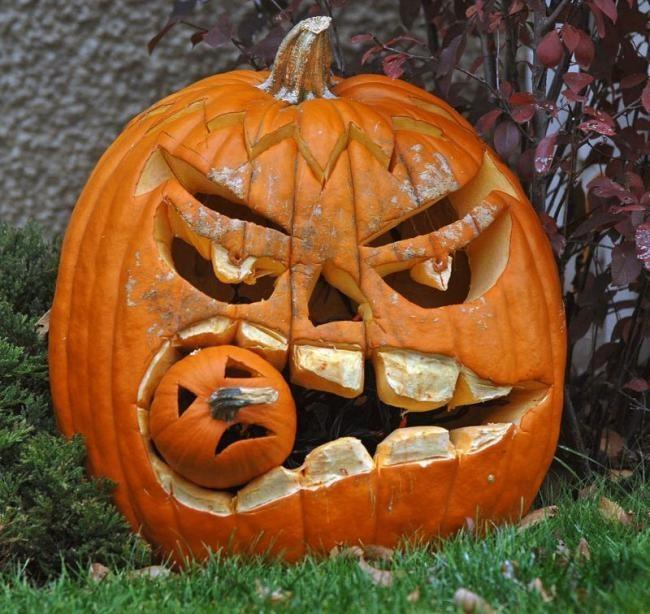 Фото прикол  про хэллоуин
