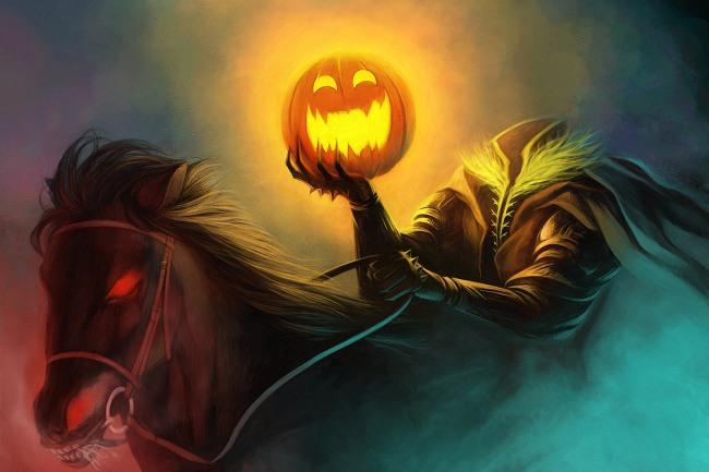 Картинка  про хэллоуин