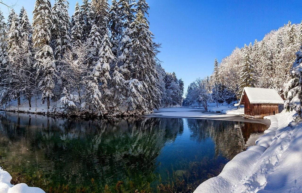 Самая красивая картинка про зиму