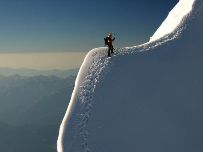 Фото прикол  про альпинистов