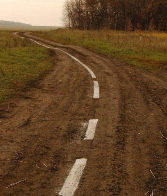 Фото прикол  про дороги и россию