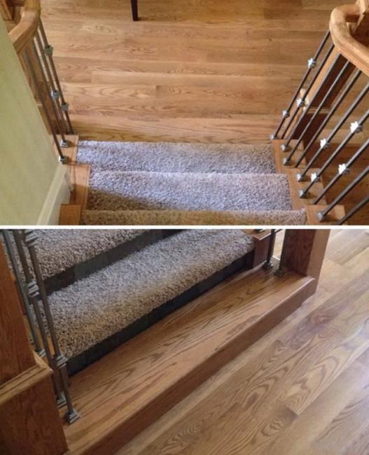 Фото прикол  про лестницу