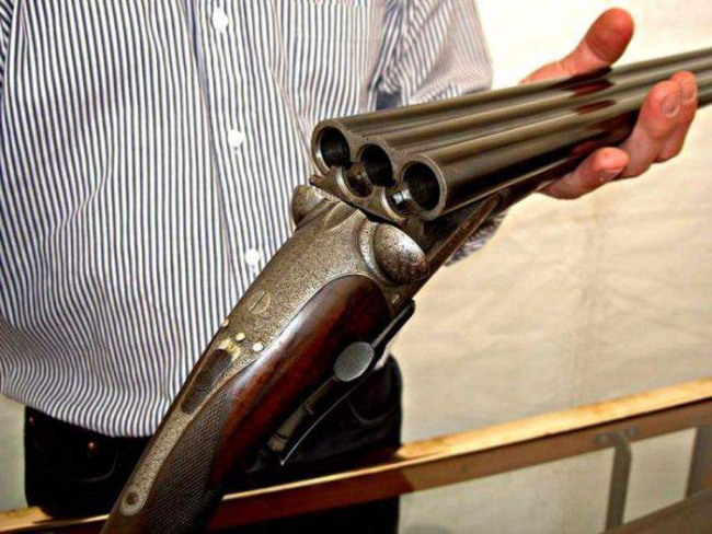 Фото прикол  про оружие