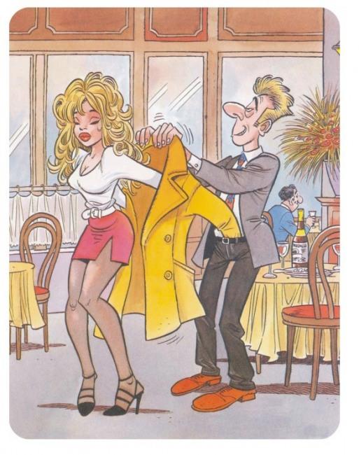 Картинка  про одевание пошлая