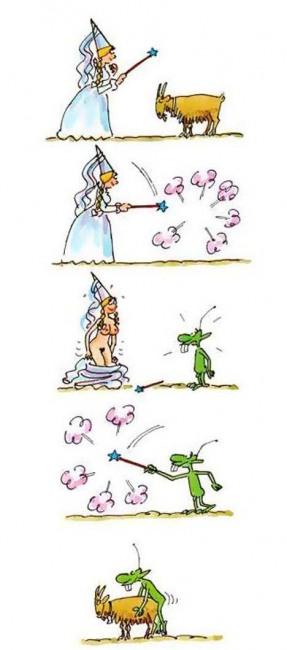 Картинка  про фею, козлов, пошлая комикс