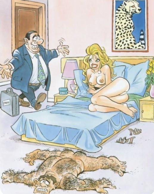 Картинка  про любовников пошлая