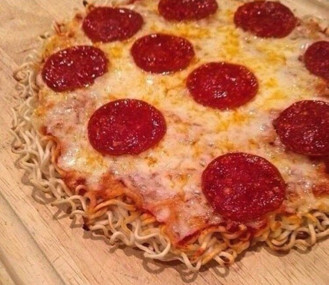 Фото прикол  про пиццу