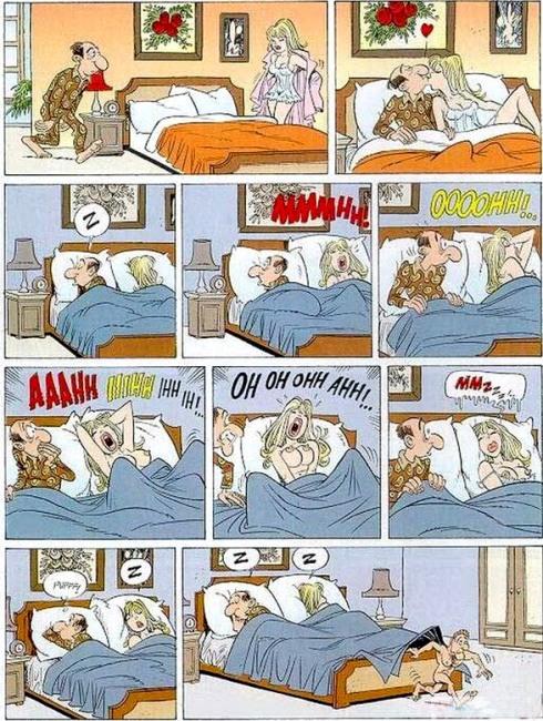 Картинка  интимная, пошлая комикс