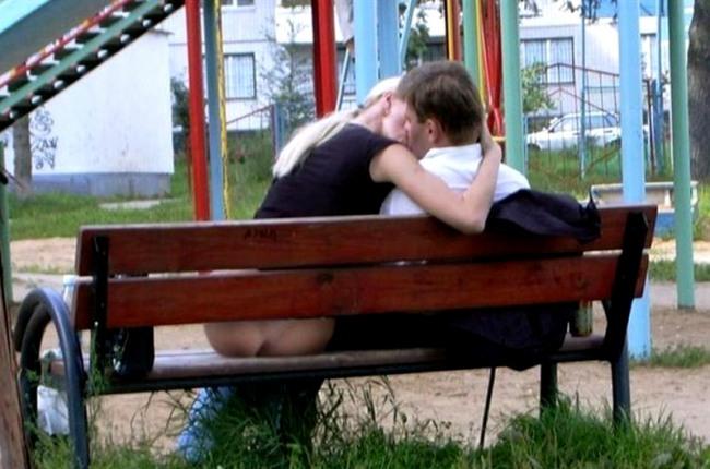 Фото прикол  про поцелуи, задницу пошлый