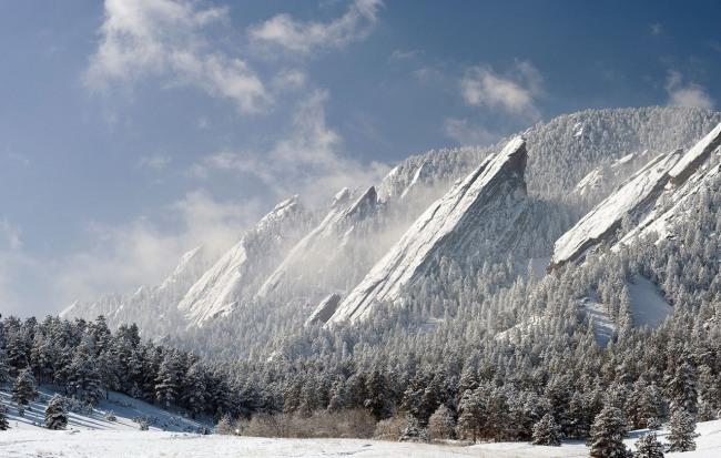 Фото прикол  про горы и зиму