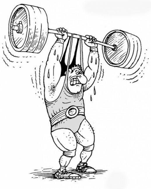 Картинка  про спортсменов
