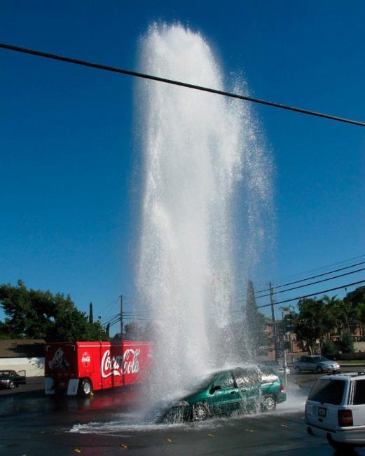 Фото прикол  про автомобили и воду